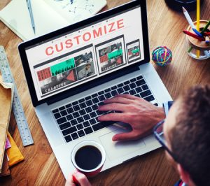 customize your website photo