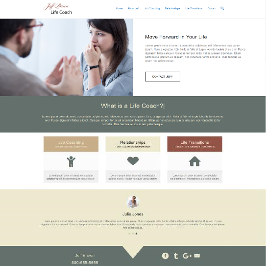 Small Business Website examples 5
