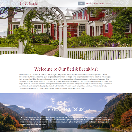 Bed and Breakfast Design