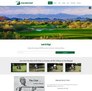 Freebird Golf Website