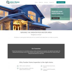 Frontier Home Inspection Website