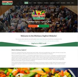 Vegan Festival Website