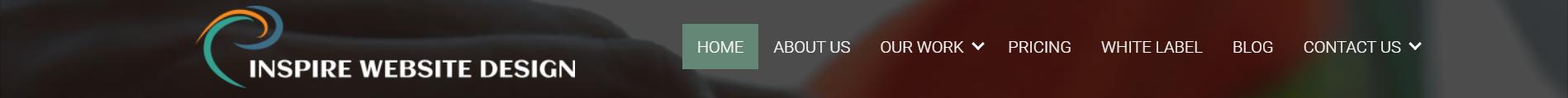 Good website navigation