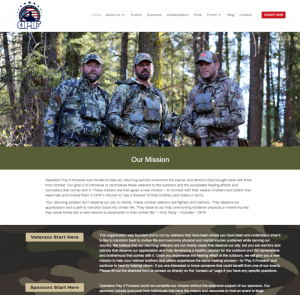 Operation Pay It Forward Website